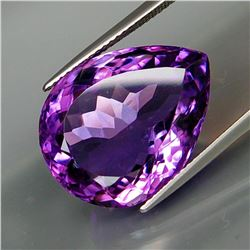 Natural Purple Amethyst 20x15 MM - Untreated