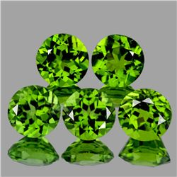 Natural AAA Green Peridot {Flawless-VVS1}