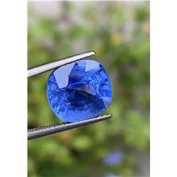 Natural Untreated Burma Cornflower Blue Sapphire