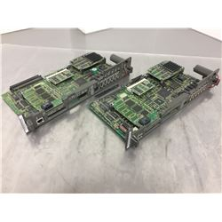 (2) Fanuc A16B-3200-0412 Processor Boards
