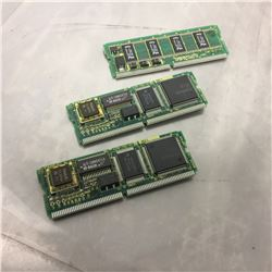 (3) Fanuc Daughter Boards A20B-2902-0070 & A20B-2902-0371