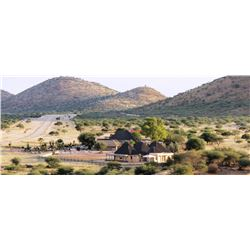 Bergzicht Game Lodge Namibia 10 Day Hunting Safari for Two