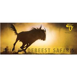 Wild Wildebeest SAFARIS Northern Cape Safari for Two or Four Hunters