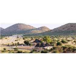 Bergzicht Hunting Lodge Namibia 10 Day Hunting Safari for Two