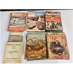Group of Books and Magazines