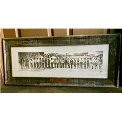 Framed Arizona Rangers Photo from 1903