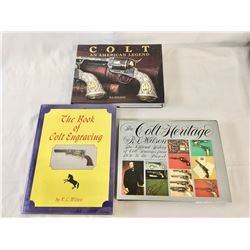 Three Collectible, Colt, Coffee Table Books