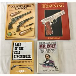 Four Books - Three on Colt, One on Browning