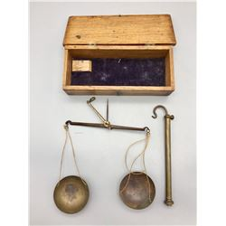 Antique Gold Scale