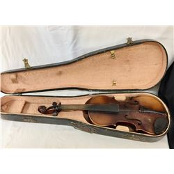 Antique Violin and Case