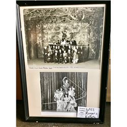 Original Vaudeville Photo of Will Rogers