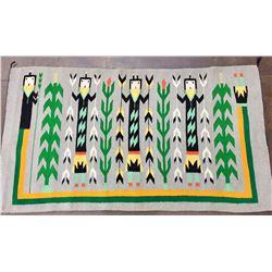 Pictorial Navajo Textile