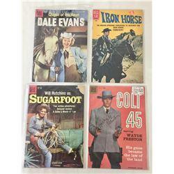 """Group of Four """"Golden Era"""" Cowboy Comics"""