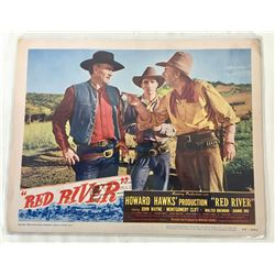 John Wayne - Red River Lobby Card