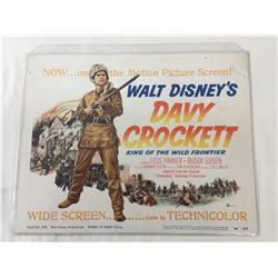 Davy Crockett - Title Lobby Card