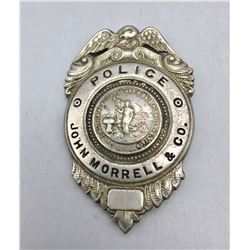 Circa 1930s - 40s Police Badge