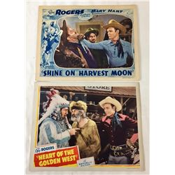 Two Roy Rogers Lobby Cards