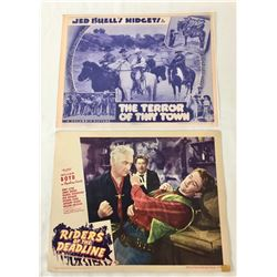 1930s and 40s Western Movie Lobby Cards
