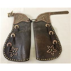 Small Studded Kids Chaps