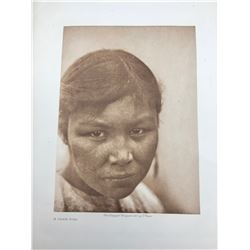 Original Edward Curtis Print on Tissue