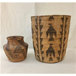 Two Antique Pima Baskets