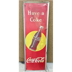 Vintage Coca-Cola Advertisement Sign