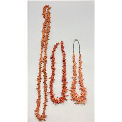 Group of Branch Coral Necklaces