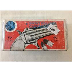 Box .41 Short Rim Fire Ammo