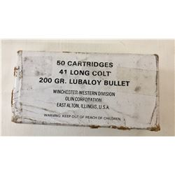 Box .41 Long Colt Ammo