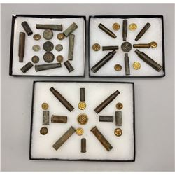 Group of Relics Displays