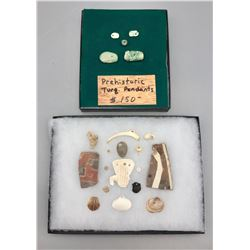 Group of Artifacts Displays