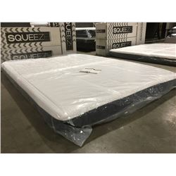 "QUEENSIZE KINGSDOWN 7"" MEMORY FOAM MATTRESS"