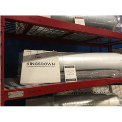 "TWINSIZE KINGSDOWN 10"" MEMORY FOAM MATTRESS"