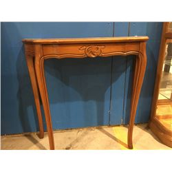 SINGLE DRAWER MAHOGANY HALL/CONSOLE TABLE