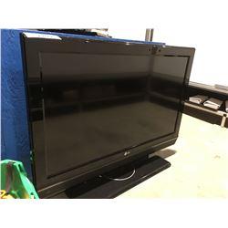 "LG 37"" FLATSCREEN TV (NO REMOTE)"