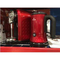 CAFFE CAGLIARI CARINA ESPRESSO STATION/ESPRESSO CAPSULE COFFEE MACHINE (RED)
