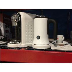 CAFFE CAGLIARI CARINA ESPRESSO STATION/ESPRESSO CAPSULE COFFEE MACHINE (WHITE)