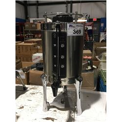 STAINLESS STEEL WITH STAND COFFEE/HOT BEVERAGE DISPENSER