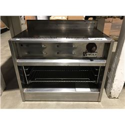 WOLF COMMERCIAL OVEN - PROPANE SALAMANDER - EASILY CONVERTED BACK TO NAT GAS