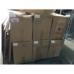 """1 PALLET OF 12 BOXES OF LOGOED SMALL PAPER BAGS  12"""" X 7"""""""