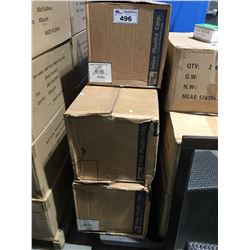 5 BOXES PLASTIC TAKE OUT FOOD CONTAINERS