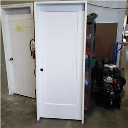 NEW 32 INCH DOOR,METRIE LINCOLN PARK PREHUNG 33 5/8 INCH JAM RETAIL $180