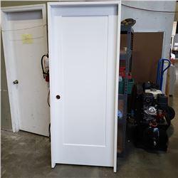 NEW 32 INCH DOOR, METRIE LINCOLN PARK, PREHUNG 33 5/8 INCH JAM RETAIL $180