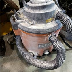 RIGID SHOP VAC - TESTED AND WORKING