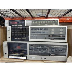 3 PIECES FISHER STEREO EQUIPMENT