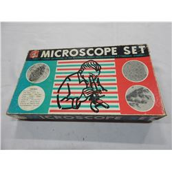 VINTAGE MIKRO KRAFT MICROSCOPE SET