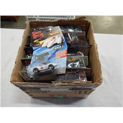 BOX OF NEW SPEED RACER HOTWHEELS CARS