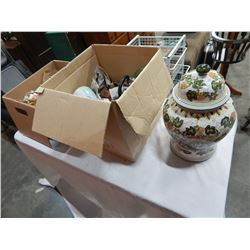 2 BOXES OF CHINA ETC