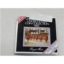 UNITED KINGDOM UNCIRCULATED COIN COLLECTION 1983