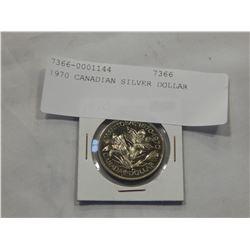 1970 CANADIAN SILVER DOLLAR